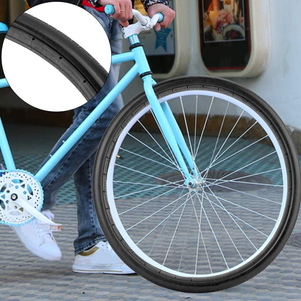 VGEBY1 Llantas de Bicicleta sólidas, llanta a Prueba de ...