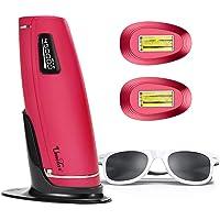 IPL Haarentfernungsgerät 3 in 1 600000 Blitze Schmerzlos Laser Rasierer Haarentfernung Gerät Mit HR SC RA Funktion Für Körper, Gesicht, Bikini und Unterarme (Typ 0)