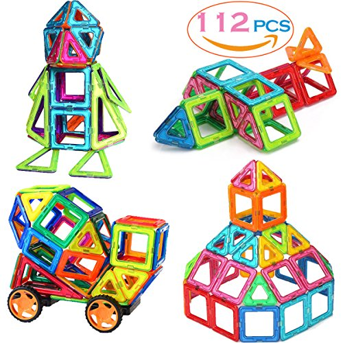 SASRL Magnetic Blocks Toys Educational Building Tiles Blocks