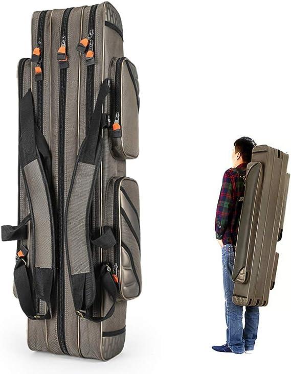 GXYD Fishing Rod Case, Portable Folding Fishing Rod Case