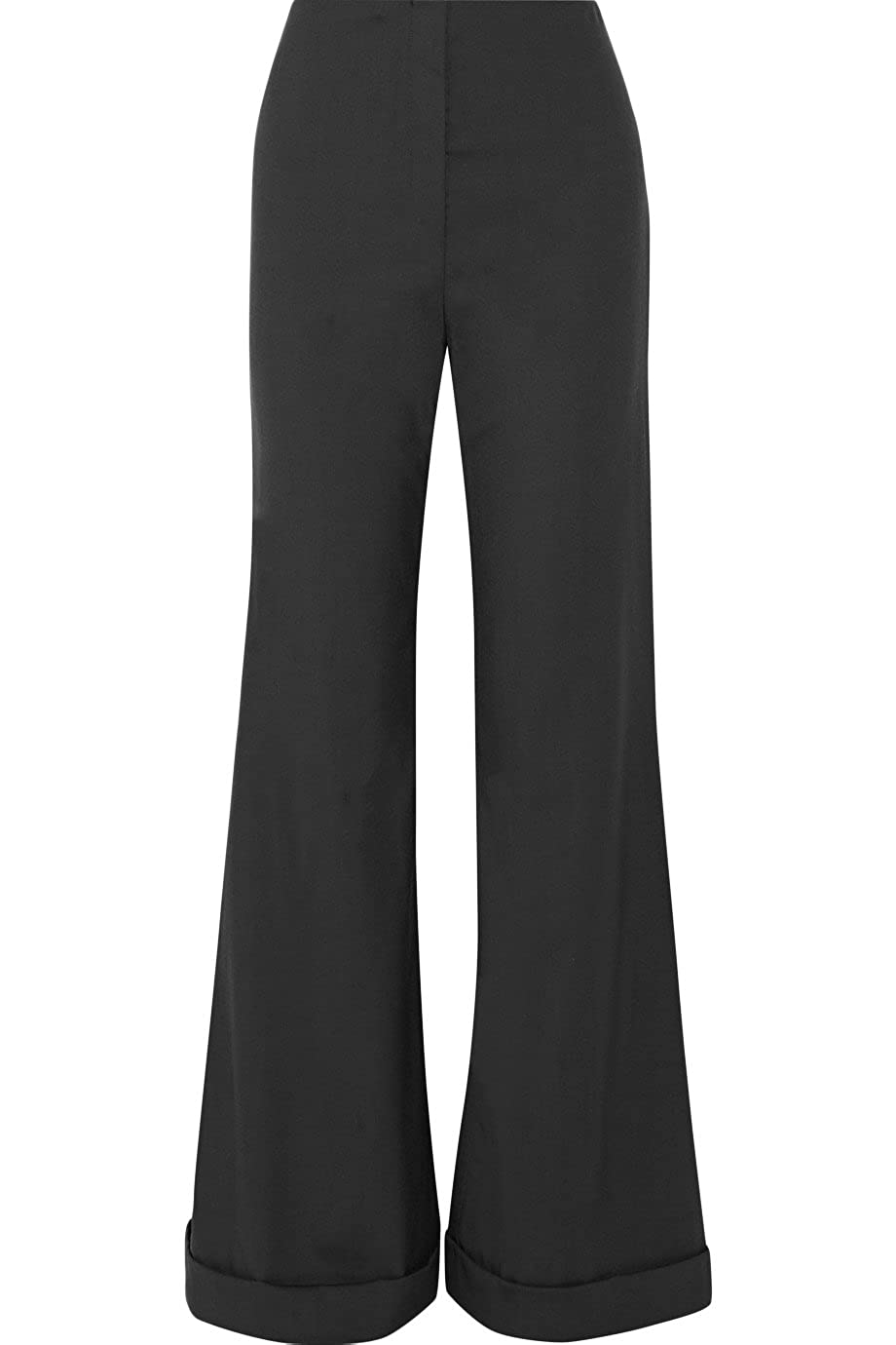 The Row Winona Stretch Wool Wide Leg Pants 2
