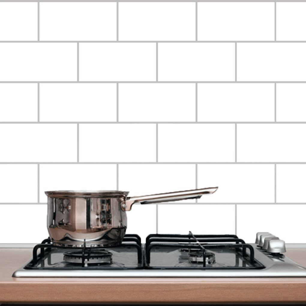 Amazon.com: Subway Tile - Wall Decal: Home & Kitchen