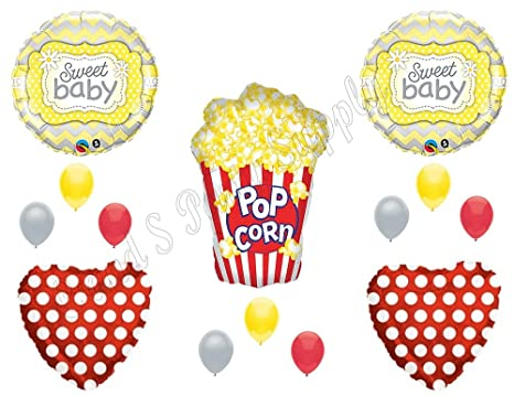 Amazoncom Ready To Pop Baby Shower Balloons Decoration Supplies