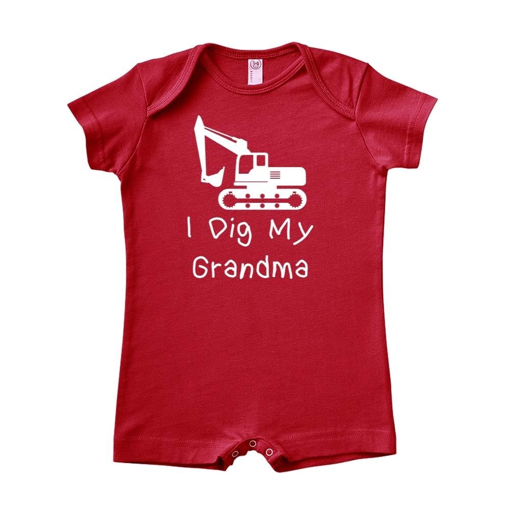 Mashed Clothing I Dig My Grandma Baby Romper