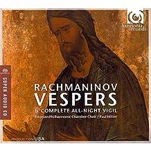 RACHMANINOV. Vespers. EPCC/Hillier (SACD)