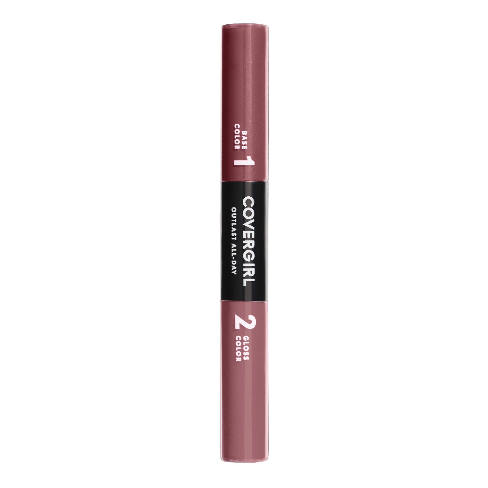 COVERGIRL Outlast All-Day Color & Lip Gloss, Rich Caramel, 0.2 Ounce (packaging may vary)