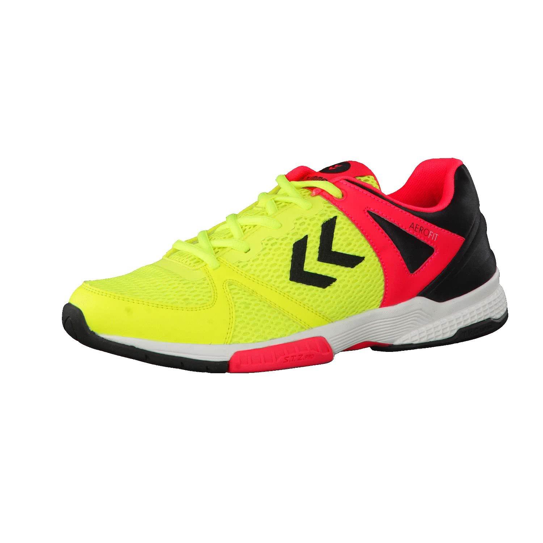 TALLA 44. Chaussures Hummel Aerocharge HB180 jaune/noir/rose