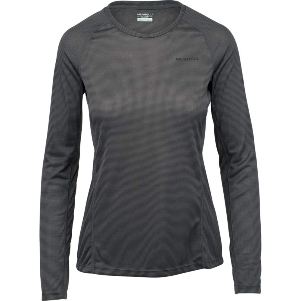 d4017f66db Amazon.com: Merrell Entrada II Long Sleeve Wicking Tech Tee Women XL ...