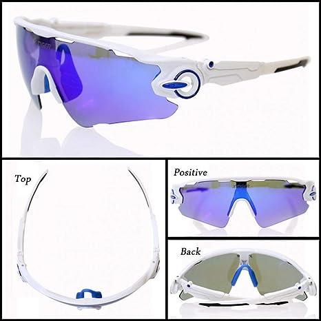 ZHANGSHIGC Gafas de Ciclismo polarizadas X-Tiger de 3 Lentes Gafas ...