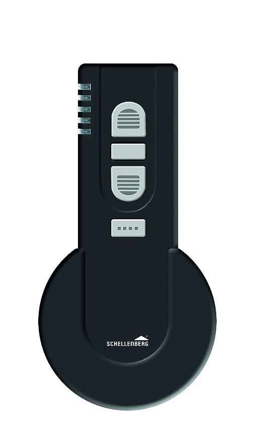 Schellenberg 20019 Smart Home Funk-Handsender 1-Kanal mit 868,4 MHz schwarz Steckdose Rolladensteuerung Fernbedienung Licht