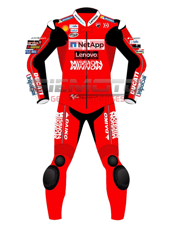 MOTOGPGEARS Danilo Petrucci MotoGP 2019 Motorrad-Motorrad-Lederanzug