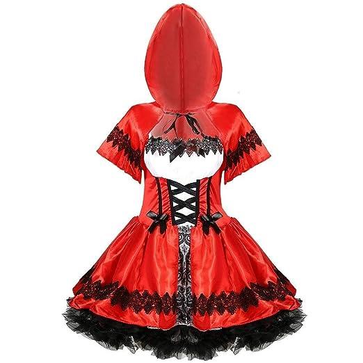 Hcxbb-b Traje de la Capilla Little Red Riding, Papel de la Mujer ...