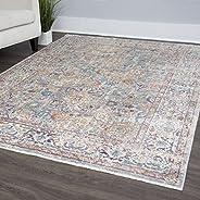 "Home Dynamix Nicole Miller Artisan Tulum Area Rug, Gris/Marfil, 26""x9"