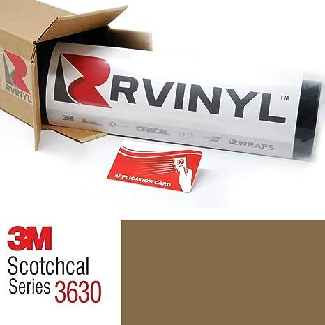 3 M 3630 oro metálico 131 Scotchcal translúcido película hoja ...