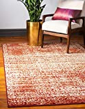 Unique Loom Autumn Collection Casual Rustic Warm Toned Terracotta Area Rug (2′ x 3′) Review