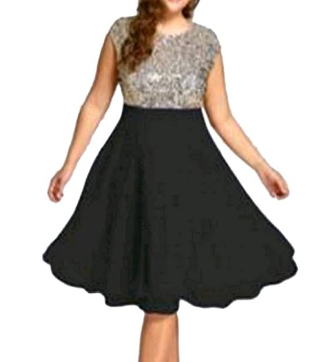 Comfy-Women Chiffon Fashion Sleeveless Plus-Size Midi ...