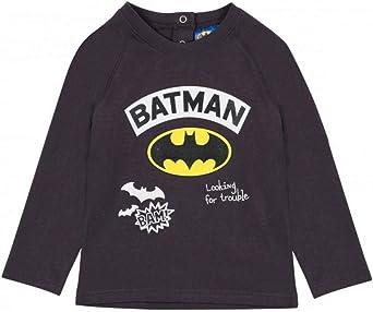 Batman Bimbo Maglietta a Maniche Lunga