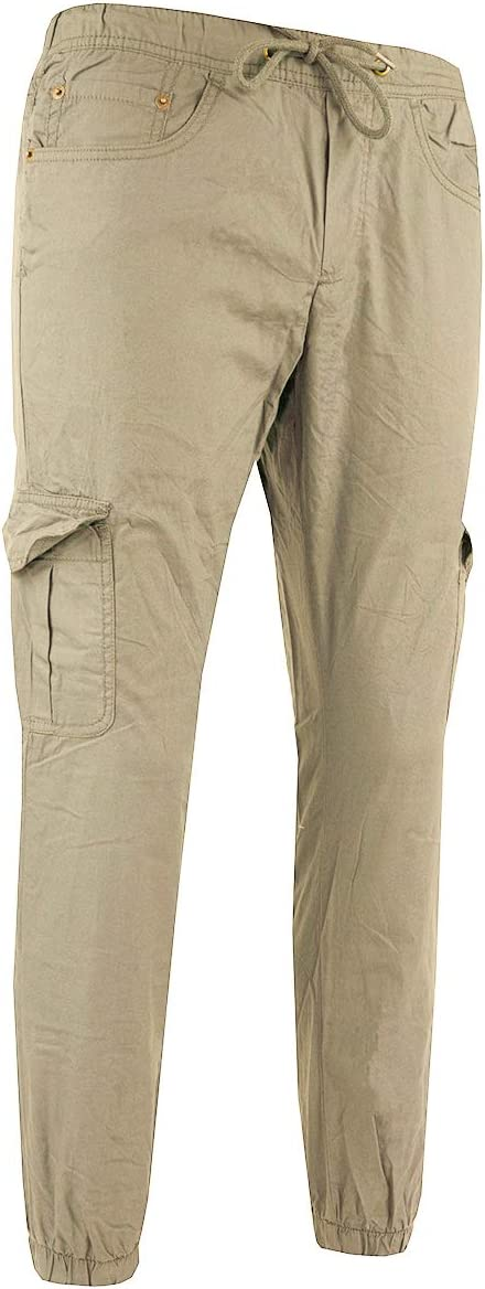 IZOD Men/'s Jersey Lined Jogger Pants