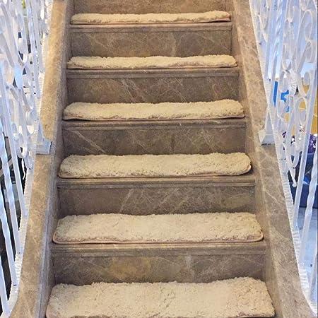 work out 15 Piezas Alfombras para escaleras - Alfombrillas para peldaños Antideslizantes Adhesivas Amortigua Sonidos Antideslizante Rugs Juego Alfombrillas-Camello_24 * 65 cm: Amazon.es: Hogar