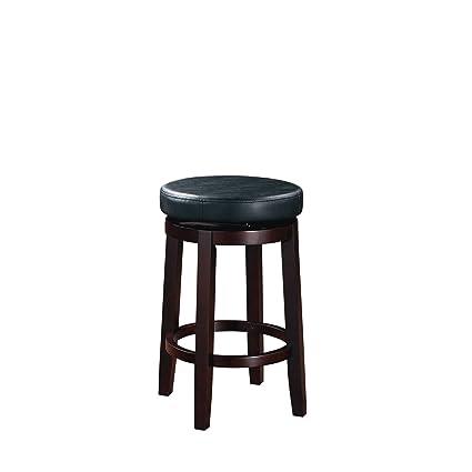 Fabulous Amazon Com Bar Stool Maya Black 24 Counter Stool Solid Evergreenethics Interior Chair Design Evergreenethicsorg