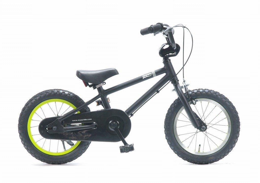 【子供用自転車 14インチ】ジュニア用BMXスタイル 《Wynn14》 湘南鵠沼海岸発信 B018C90JZQ ブラック ブラック