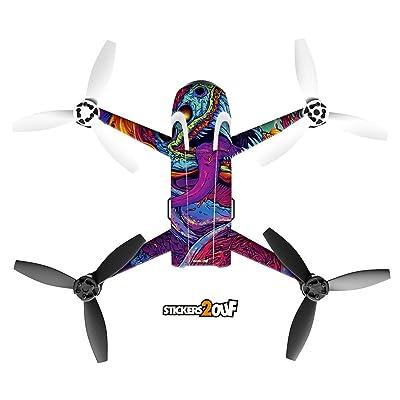 Sticker Beast pour drone Bebop 2