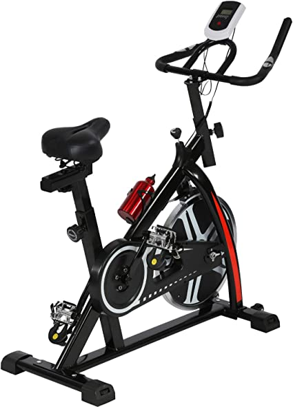 Amazon Com Cycling Bike Exercise Bike Indoor Cycling Spin Bike Bicycle Cardio Fitness Cycle Trainer Heart Pulse W Led Display Exercise Bikes Stationary Indoor Sports Outdoors