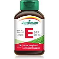 Jamieson Balanced Vitamin E Complex 400 IU with Mixed Tocopherols