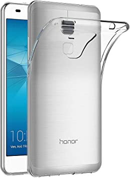 AICEK Funda Honor 5C, Huawei Honor 5C Funda Transparente Gel ...