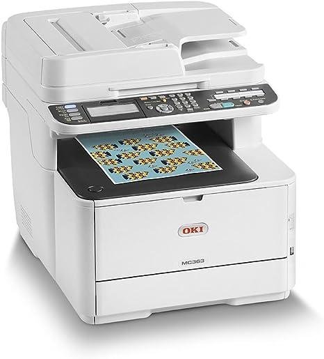 OKI MC363dnw - Equipo multifunción Color A4 con tecnología LED ...