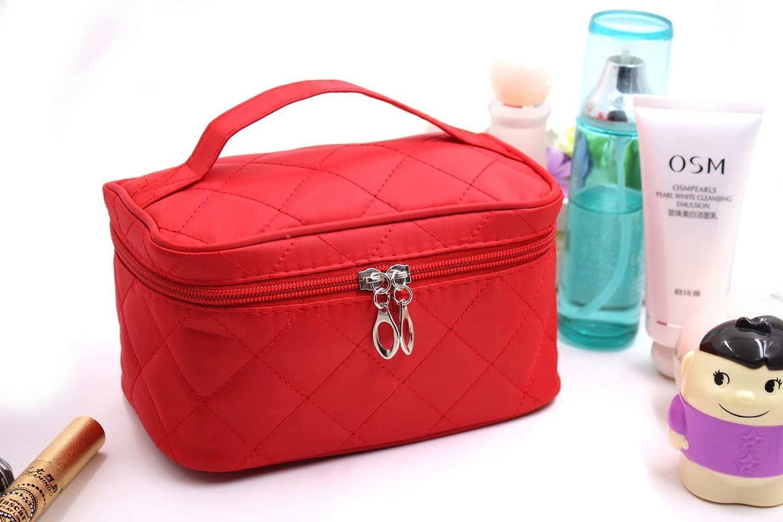 b95d0b9faab3 LINSUNG Cosmetic Bag Beauty Case Makeup Bag, Beauty Bag Travel Pouch ...