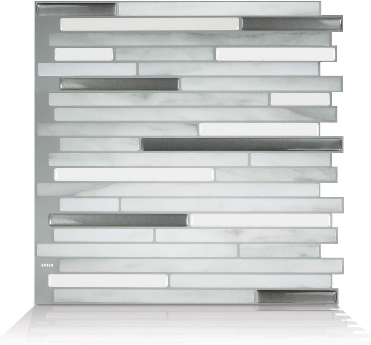 Smart Tiles tuiles Autocollantes pour dosseret Paquet de 6 Capri Carrera