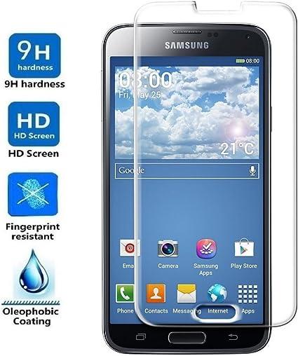 ELECTRÓNICA REY Protector de Pantalla para Samsung Galaxy S5 / S5 ...