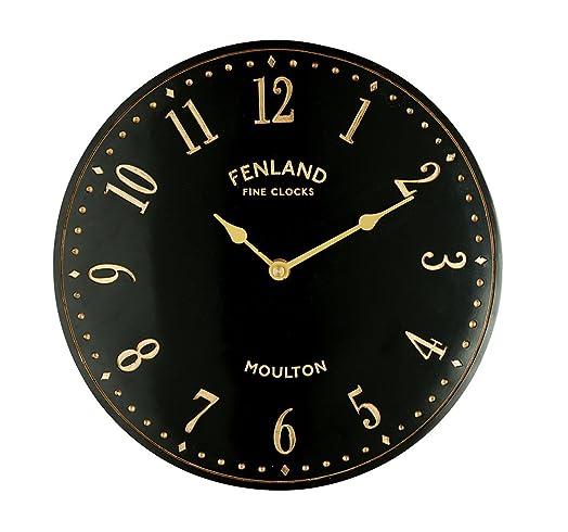 Superior Gardman Black Stable Garden Clock