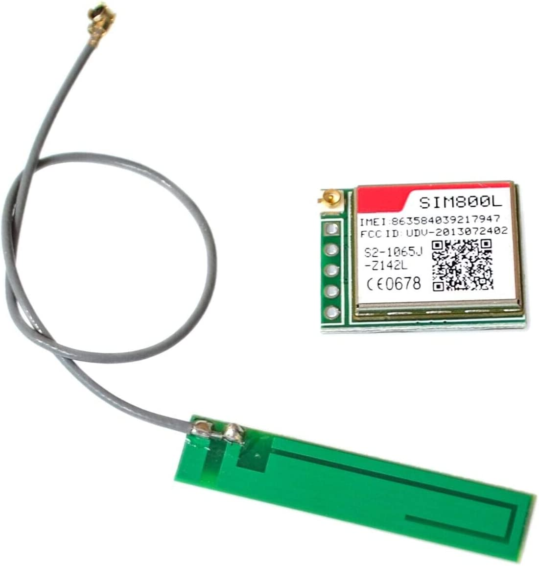 Xia Fly 10PCS//LOT SIM800L Wireless GSM GPRS Module Quad-Band W//Antenna Cable Cap