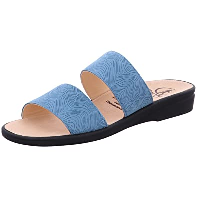 Ganter Sonnica-E, Mules Femme, Bleu (Azure 3300), 38.5 EU