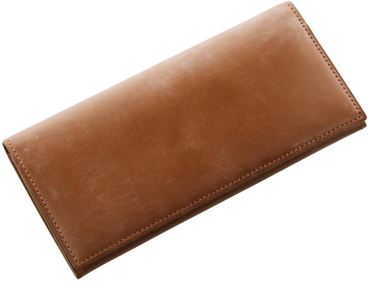 [ PRAIRIE ] メンズ 長財布 ブライドル牛革 レザー 本革 紙幣入れ 束入れ 英国製 B071JLSBRC ライトブラウン ライトブラウン