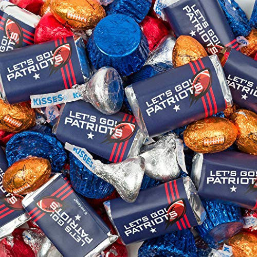 (Patriots Themed Football Party Chocolate Mix)