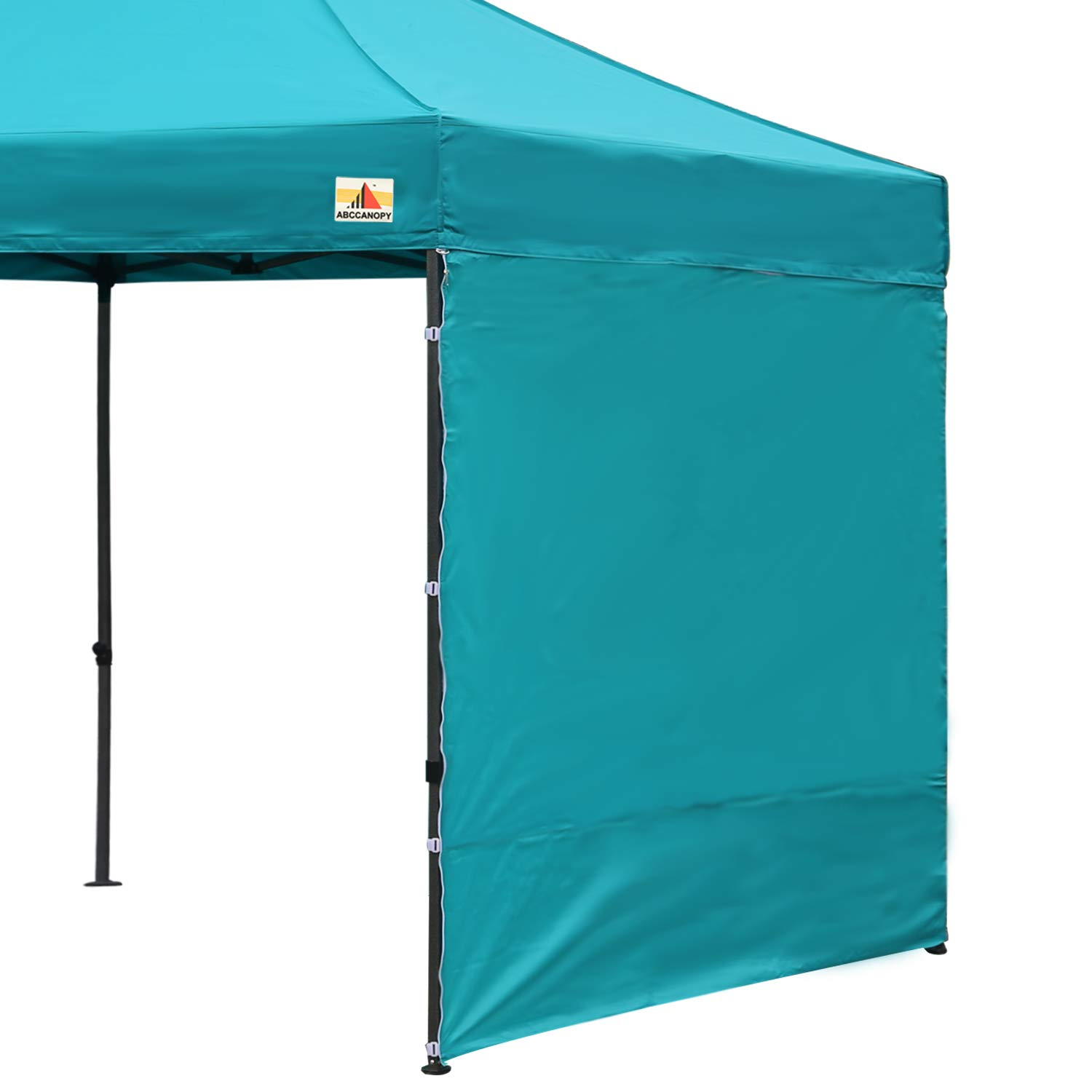 ABCCANOPY 15+Colors 10' Sun Wall for 10'x 10' Straight Leg pop up Canopy Tent, 10' Sidewall kit (1 Panel) with Truss Straps (Turquoise-1) by ABCCANOPY