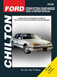 ford crown victoria mercury grand marquis 1989 2006 chilton s total rh amazon com grand marquis repair manual free mercury grand marquis repair manual