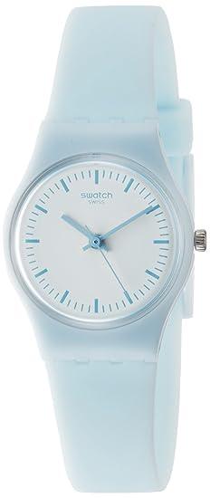 Swatch Reloj Digital de Cuarzo para Mujer con Correa de Silicona - LL119: Amazon.es: Relojes