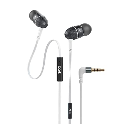 426bbd3094d boAt Bass Heads 225 in-Ear Headphones with Mic (Frosty White): Buy boAt  Bass Heads 225 in-Ear Headphones with Mic (Frosty White) Online at Low  Price in ...