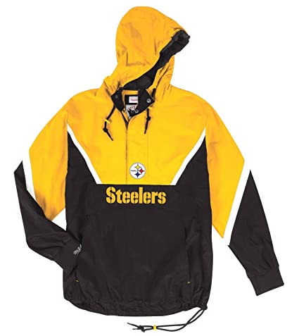 new products bc697 70f10 Amazon.com : Mitchell & Ness Pittsburgh Steelers NFL Half ...