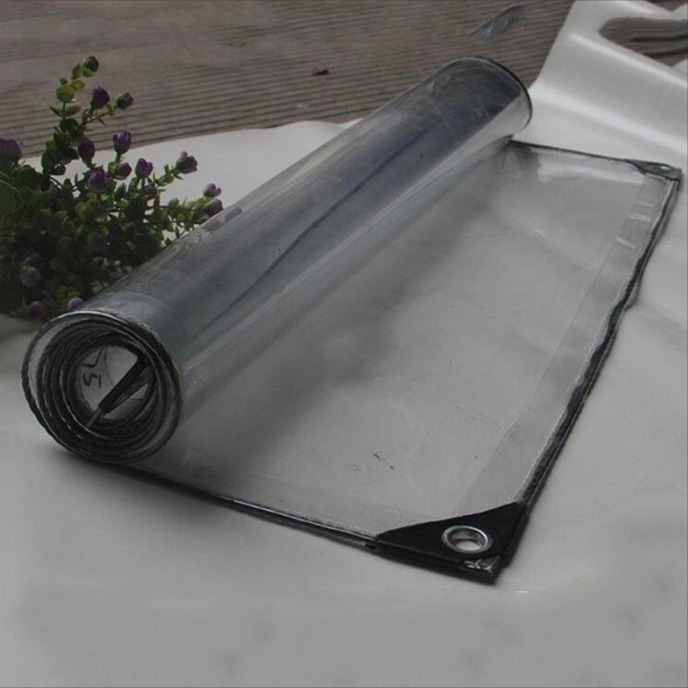 QX pengbu IAIZI Regensicheres Tuch Dicke Sonnenstube Sonnenstube Sonnenstube Pflanze Schuppen Transparent Plane Zelt Wasserdichte Plane Klimaanlage Autowaschraum transparent Zelt Tuch (Farbe   Transparent, größe   1×3m) B07MD7S1CP Zeltplanen Luxus a1d449