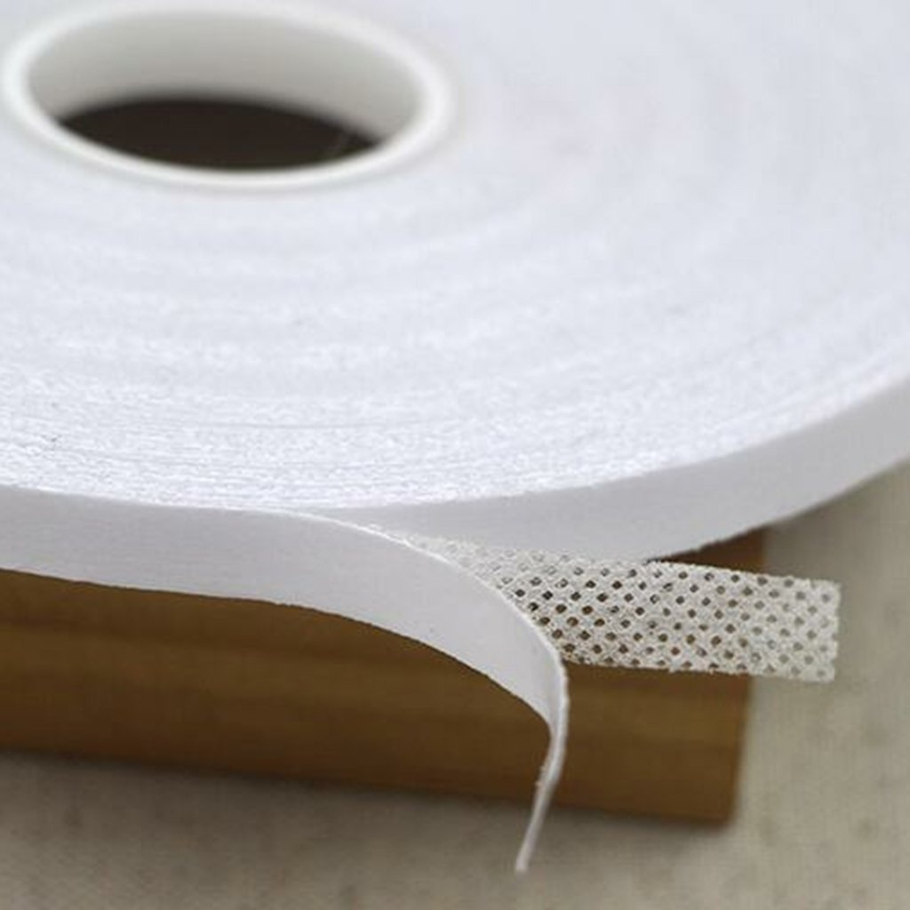 Chiwanji 1 St/ück wei/ß doppelseitig Quilting Band Wash Away N/ähband
