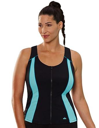 342a0ef9bc7 Aquabelle Women s Chlorine Resistant Vest Top at Amazon Women s ...