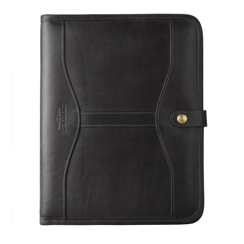 J.W. Hulme Co. - Executive Folio - Black 1905 Leather