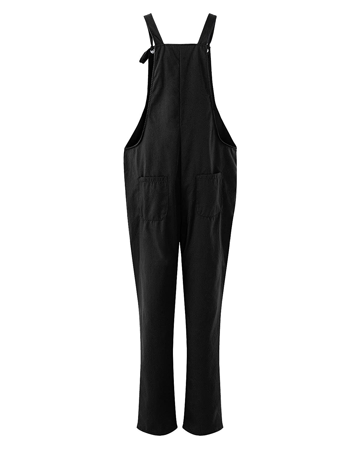 0a168511e4a ACHIOOWA Women s Dungarees Romper Jumpsuit Playsuit Sleeveless Baggy Loose  Trousers Pants Overalls  Amazon.co.uk  Clothing
