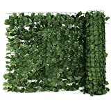 ZENY Faux Ivy Privacy Fence Screen 94'' X 59''/94''X39 Artificial Hedge Fencing Outdoor Privacy Fence Screen,Wall Home Garden Decoration (94'' X 59'')