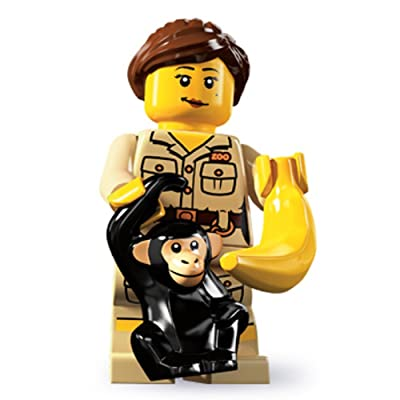 LEGO - Minifigures Series 5 - ZOOKEEPER: Toys & Games